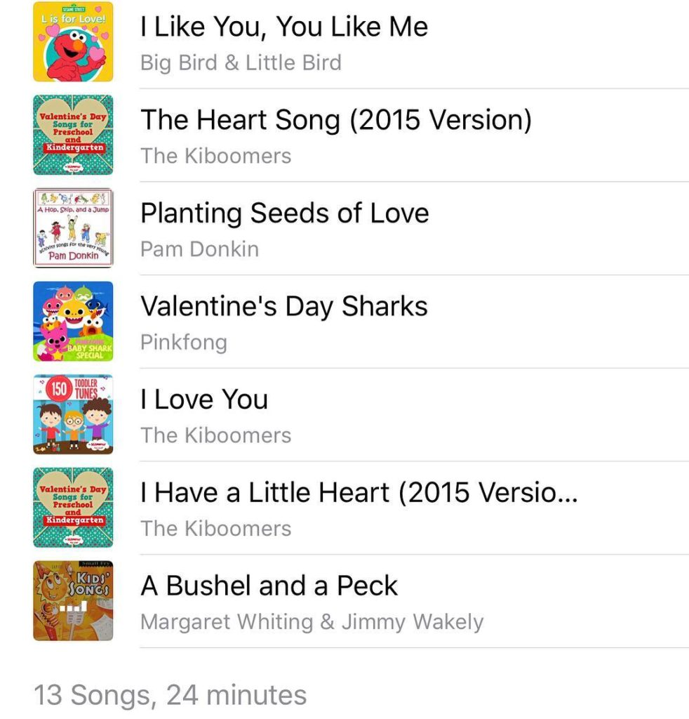 Valentine's Day Playlist for Kids – Mama Makes Learning Fun